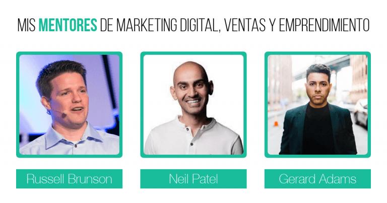 Mentores de Marketing Digital, Ventas y Emprendimiento