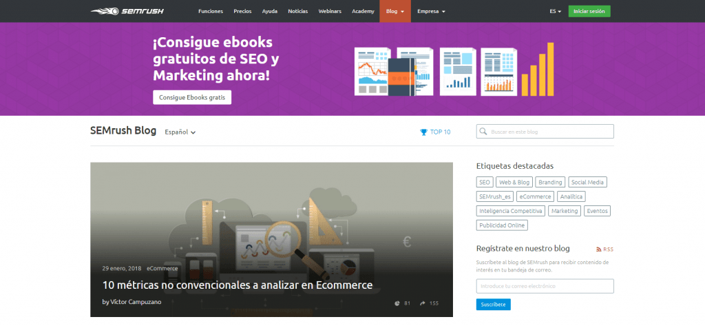 blog de semrush