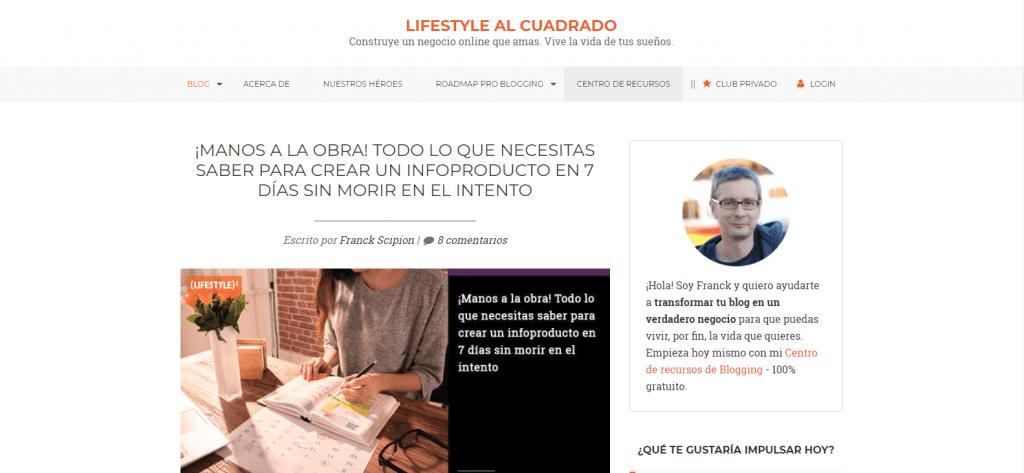 lifestyle al cuadrado blog