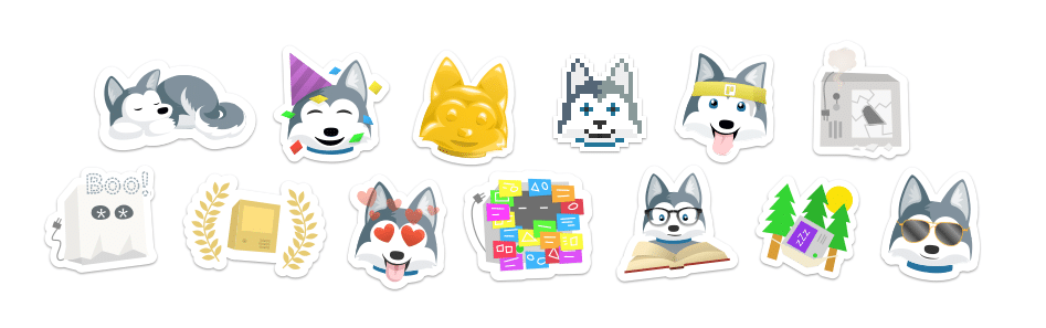 Stickers de trello