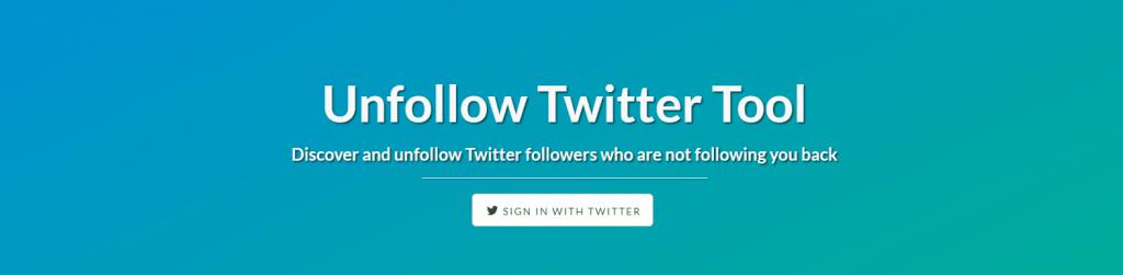 Herramienta para borrar seguidores en Twitter