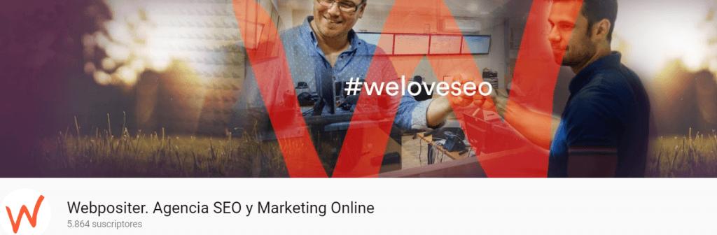 Agencia SEO Webpositer