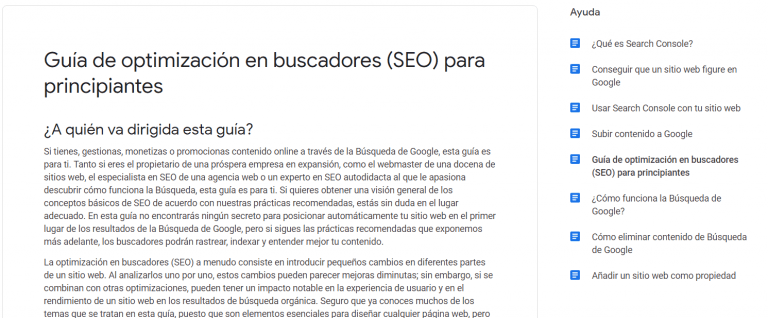 Guia de Optimizacion de SEO