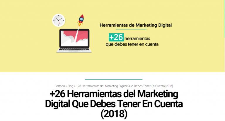 Herramientas de SEO y Marketing Digital