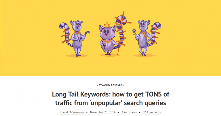 Que son las Long Tail Keywords