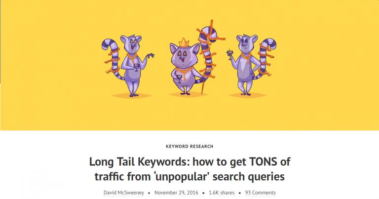 Que son las Long Tail Keywords